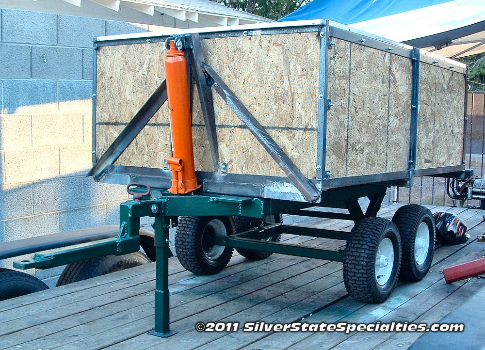 Build Your Own Hydraulic Lift : Silverstatespecialties reference section home built